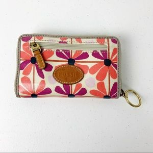Fossil Floral Small wallet